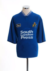 1996-97 Millwall Home Shirt L