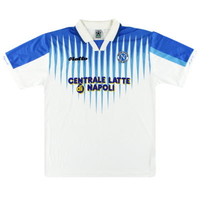1996-97 Napoli Lotto Away Shirt L