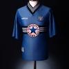 1996-97 Newcastle Away Shirt Beardsley #8 XL