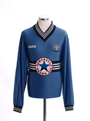 1996-97 Newcastle Away Shirt L/S L