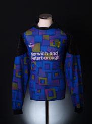 1996-97 Norwich City Goalkeeper Shirt Gunn #1 XL