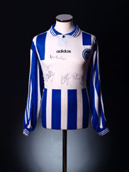 1996-97 Odense BK Signed Home Shirt L/S XL