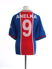 1996-97 Paris Saint-Germain Home Shirt Anelka #9 L