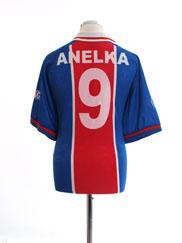 1996-97 Paris Saint-Germain Home Shirt Anelka #9 L