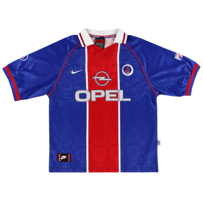 1996-97 Paris Saint-Germain Home Shirt XL