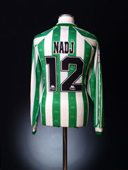 1996-97 Real Betis Match Issue Home Shirt Nadj #12 *BNWT* XL