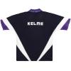 1996-97 Real Madrid Kelme Polo Shirt M