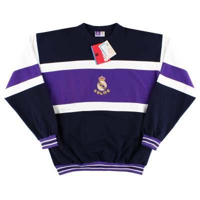1996-97 Real Madrid Kelme Sweatshirt *w/tags* XL