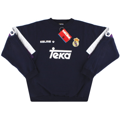 1996-97 Real Madrid Kelme Sweatshirt  *w/tags* XL