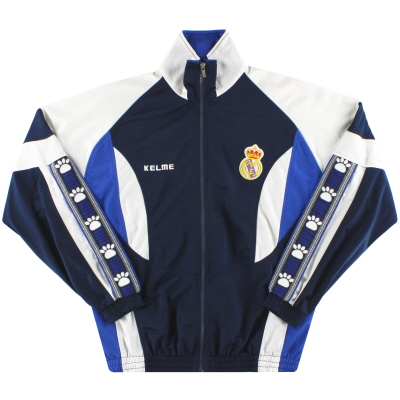 1996-97 Real Madrid Kelme Track Jacket L