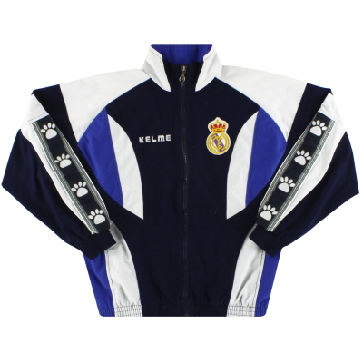 1996-97 Real Madrid Kelme Track Jacket XS