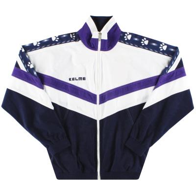 1996-97 Real Madrid Kelme Track Jacket L