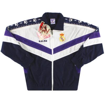 1996-97 Real Madrid Kelme Track Jacket *w/tags* XS