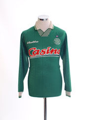 1996-97 Saint Etienne Home Shirt L/S M