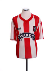 1996-97 Sheffield United Home Shirt *Mint* L