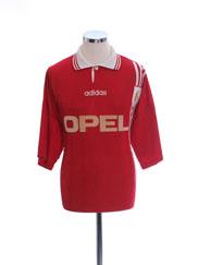 1996-97 Standard Liege Home Shirt #8 XL