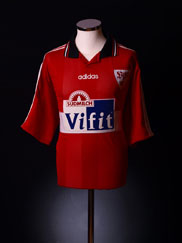 1996-97 Stuttgart Away Shirt  XL