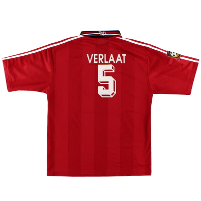 1996-97 Stuttgart Away Shirt Verlaat #5 XL