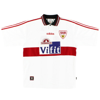 1996-97 Stuttgart Home Shirt #10 XL