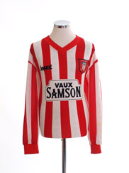 1996-97 Sunderland Home Shirt L/S XL
