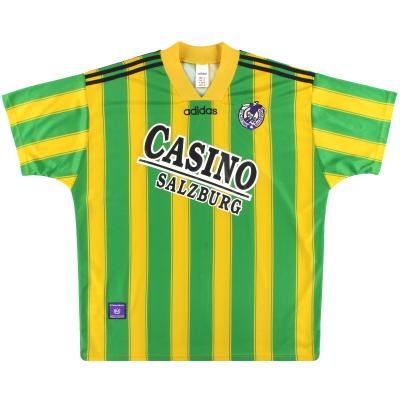 1996-97 SV Casino Salzburg adidas Away Shirt XL