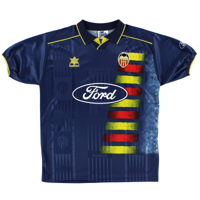 1996-97 Valencia Away Shirt XL
