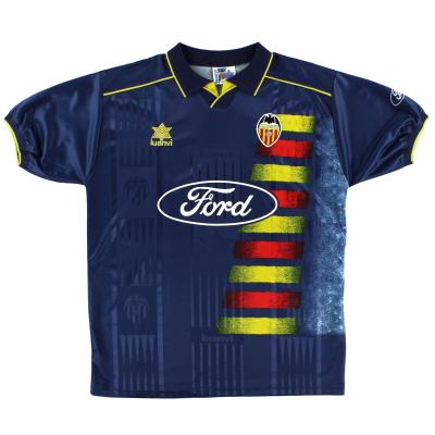1996-97 Valencia Away Shirt XL