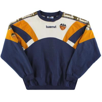 1996-97 Valencia Luanvi Sweatshirt S