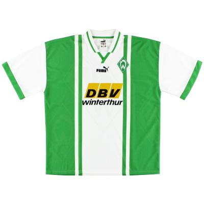 1996-97 Werder Bremen Home Shirt *Mint* XL