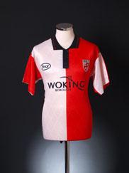 1996-97 Woking Home Shirt M