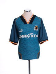 1996-97 Wolves Away Shirt M