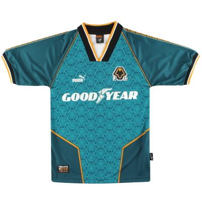 1996-97 Wolves Puma Away Shirt S
