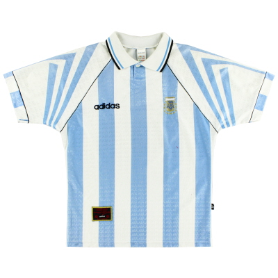 1996-98 Argentina Home Shirt M
