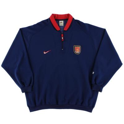 1996-98 Arsenal 1/4 Zip Fleece Top XXL