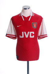 1996-98 Arsenal Home Shirt M