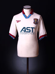 1996-98 Aston Villa Away Shirt S