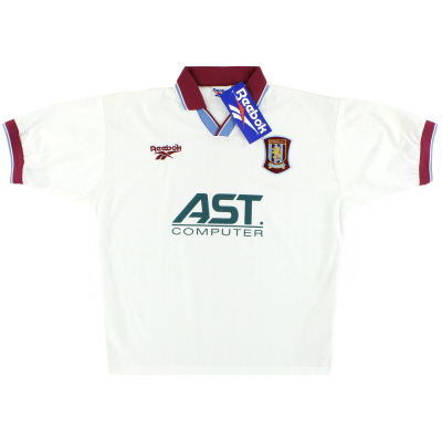 1996-98 Aston Villa Reebok Away Shirt *w/tags* L