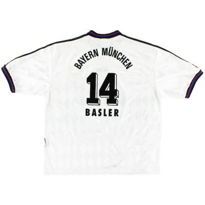 1996-98 Bayern Munich Away Shirt Basler #14 XXL