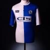 1996-98 Blackburn Home Shirt Gallacher #8 M
