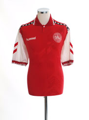 1996-98 Denmark Home Shirt L