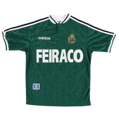1996-98 Deportivo adidas Away Shirt M