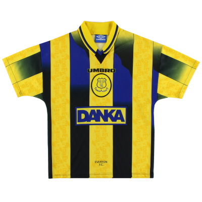 1996-98 Everton Away Shirt Y