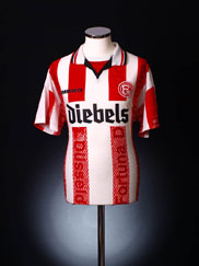 1996-98 Fortuna Dusseldorf Home Shirt L