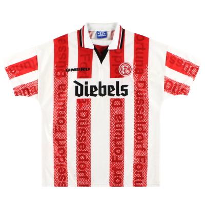 1996-98 Fortuna Dusseldorf Umbro Home Shirt XL.Boys