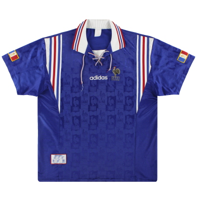 1996-98 France adidas Home Shirt L/XL