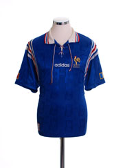 1996-98 France Home Shirt XL