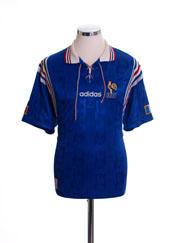 1996-98 France Home Shirt XXL