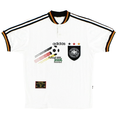 1996-98 Germany WM2006 Home Shirt L