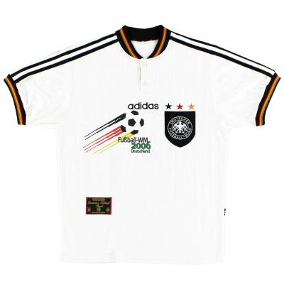 1996-98 Germany adidas WM2006 Home Shirt S