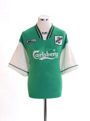 1996-98 Hibernian Home Shirt L